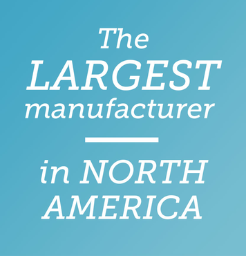 The largest manufacturer in north america