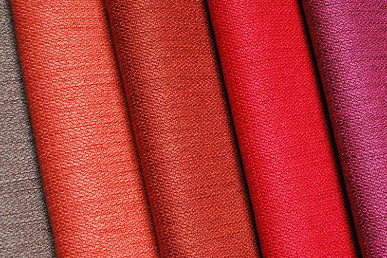 Textiles variés et riches